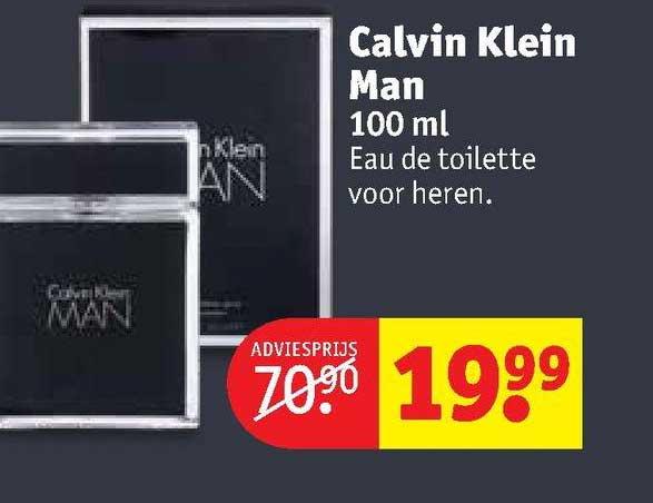 Kruidvat Calvin Klein Man 100 Ml Eau De Toilette Voor Heren