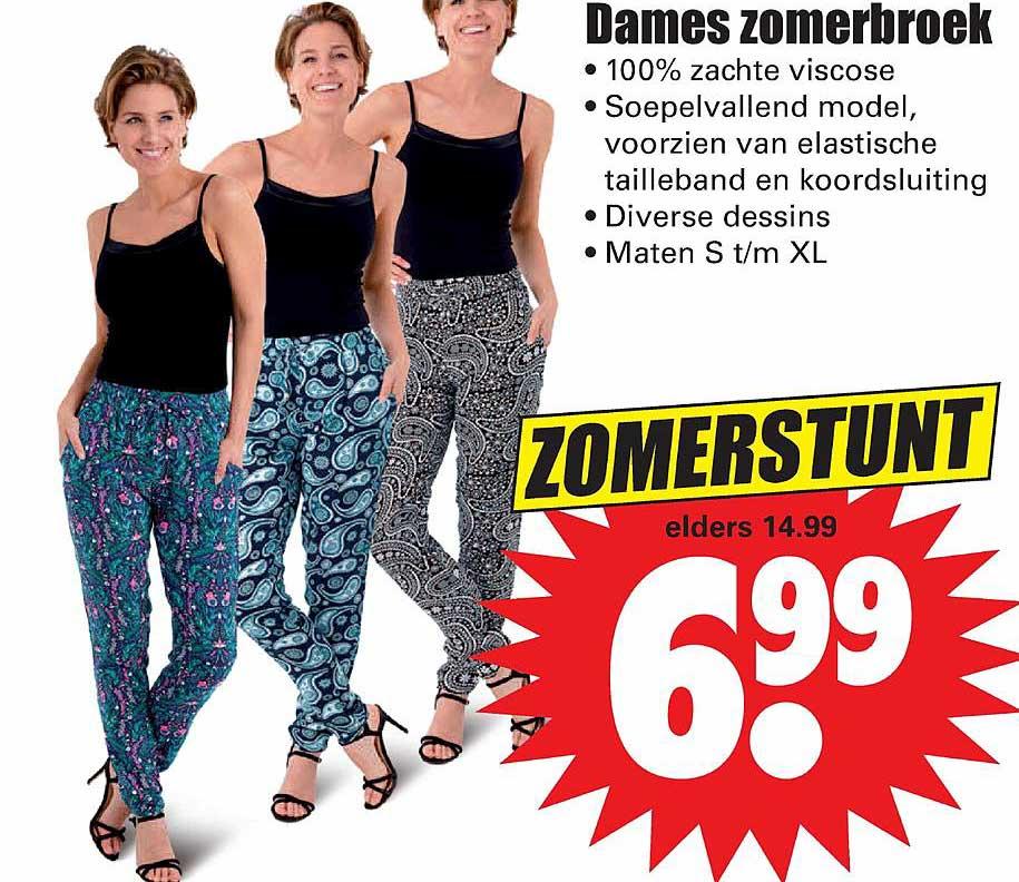 Dirk Dames Zomerbroek