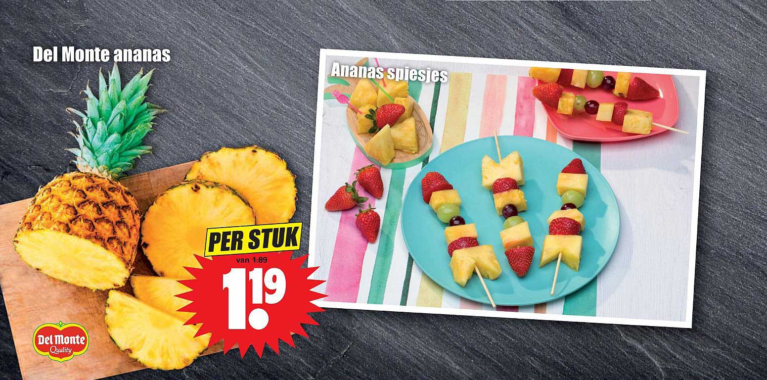 Dirk Del Monte Ananas