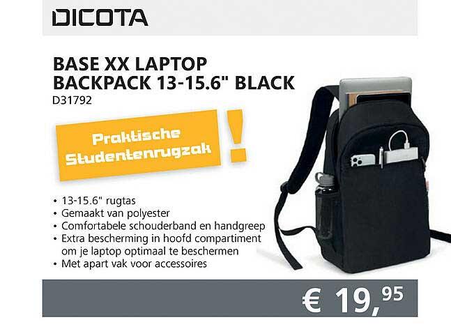 Informatique Dicota Base XX Laptop Backpack 13-15.6