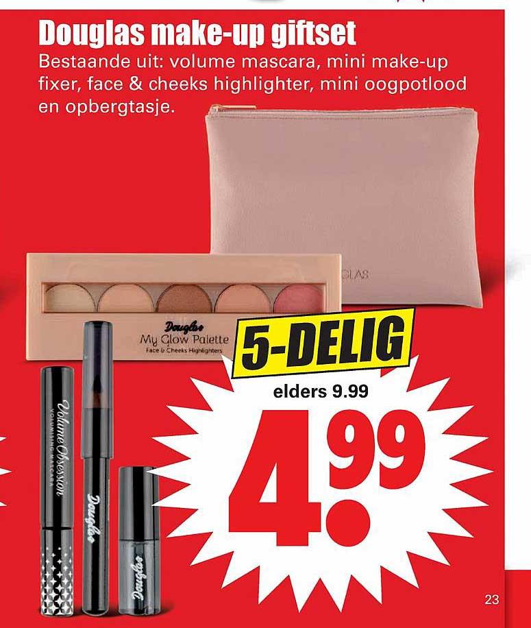 Dirk Douglas Make-Up Giftset