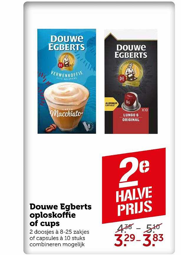 Coop Douwe Egberts Oploskoffie Of Cups