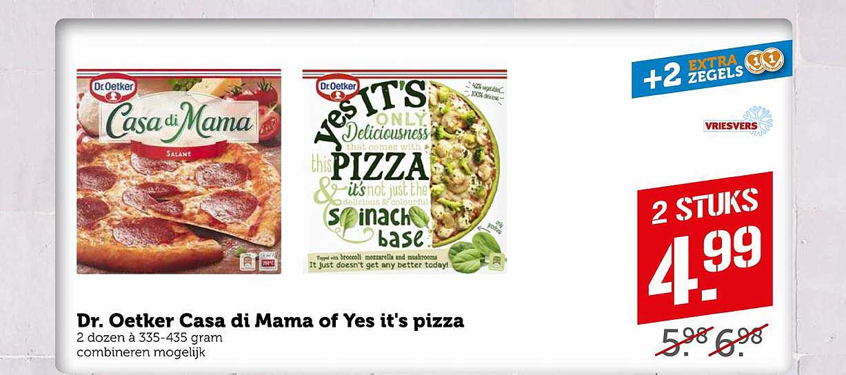 Coop Dr. Oetker Casa Di Mama Of Yes It's Pizza
