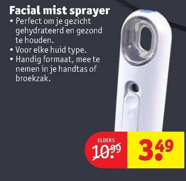 Kruidvat Facial Mist Sprayer