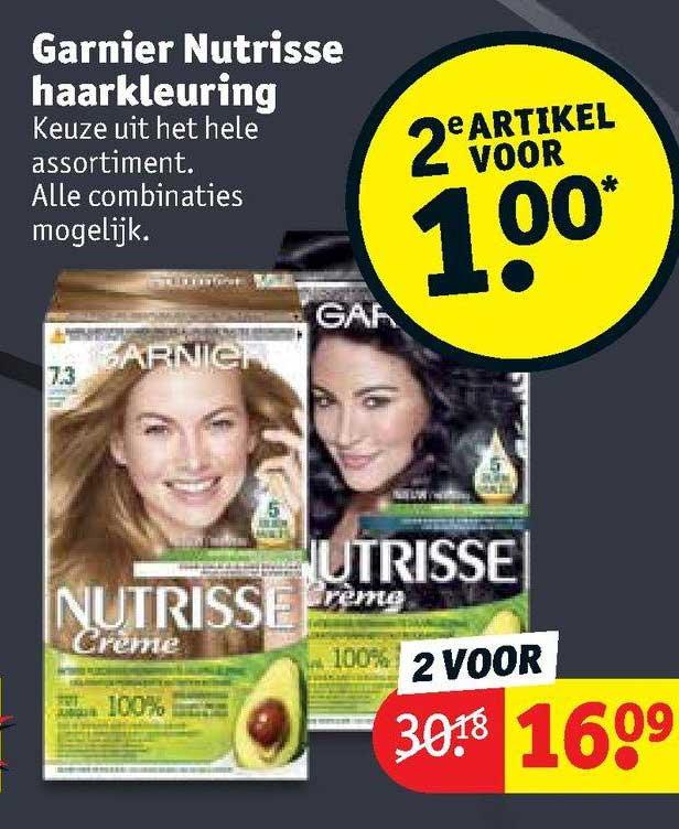 Kruidvat Garnier Nutrisse Haarkleuring