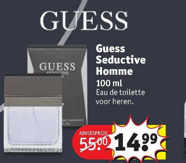 Kruidvat Guess Seductive Homme 100 Ml Eau De Toilette Voor Heren