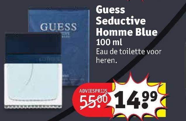 Kruidvat Guess Seductive Homme Blue 100 Ml Eau De Toilette Voor Heren