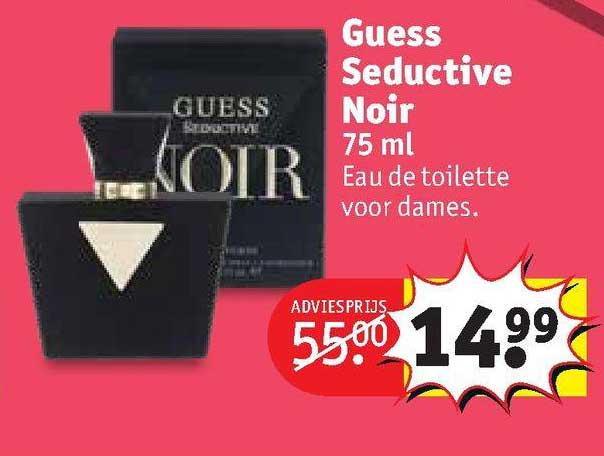 Kruidvat Guess Seductive Noir 75 Ml Eau De Toilette Voor Dames