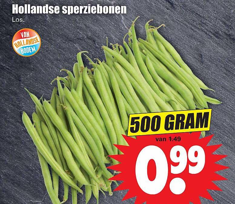 Dirk Hollandse Sperziebonen