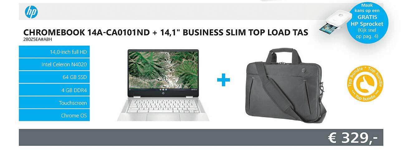 Informatique HP Chromebook 14A-CA0101ND + 14,1