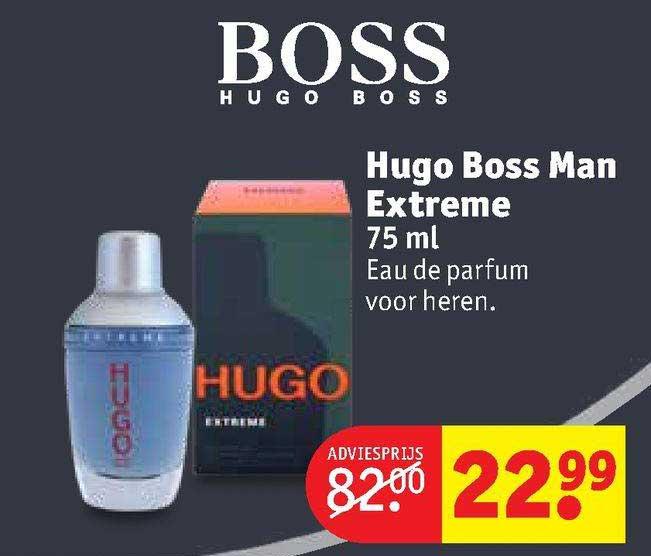 Kruidvat Hugo Boss Man Extreme 75 Ml Eau De Parfum Voor Heren
