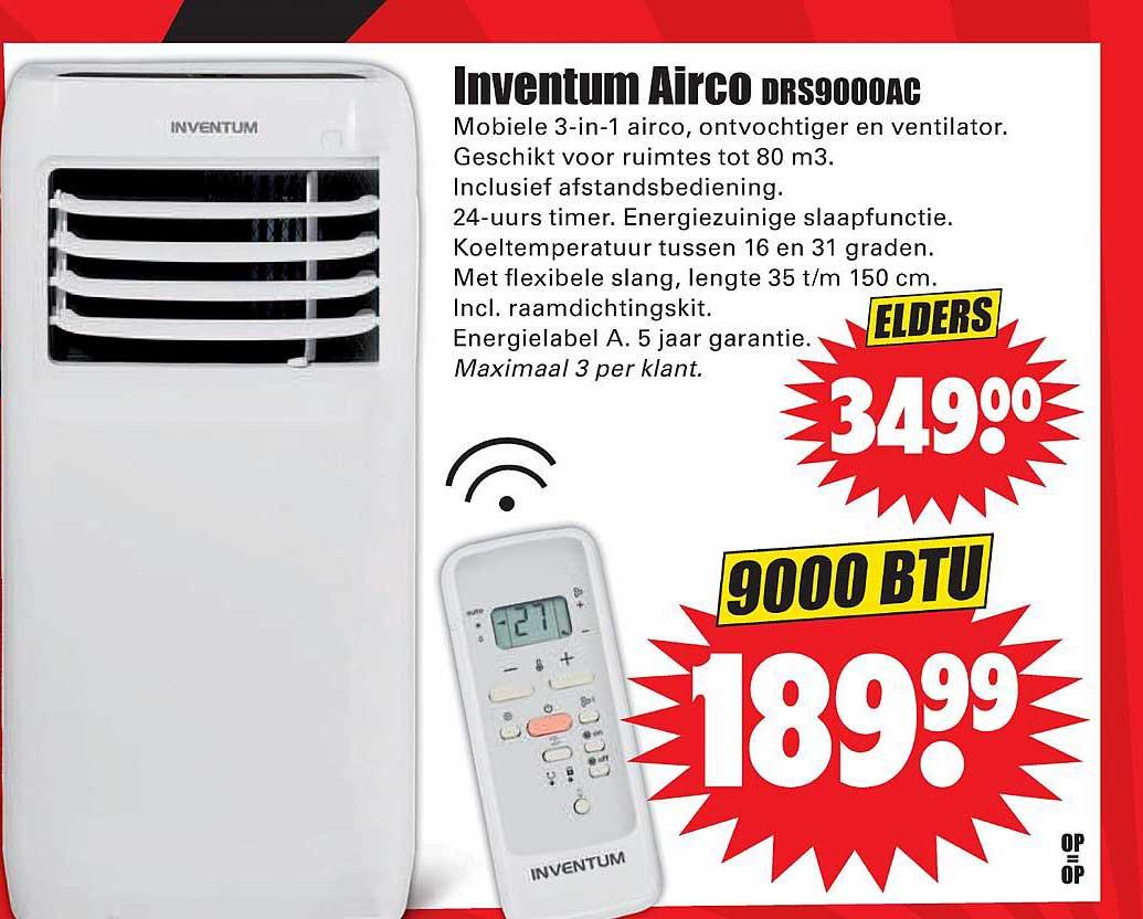 Dirk Inventum Airco DRS9000AC