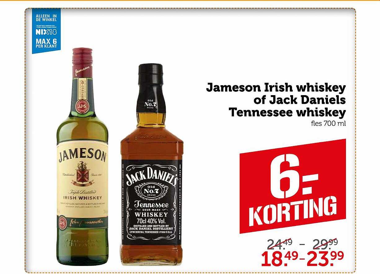 Coop Jameson Irish Whiskey Of Jack Daniels Tennessee Whiskey