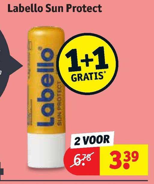 Kruidvat Labello Sun Protect 1+1 Gratis