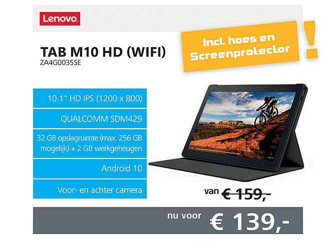 Informatique Lenovo Tab M10 HD (Wifi) ZA4G0035SE