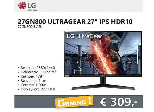 Informatique LG 27GN800 Ultragear 27