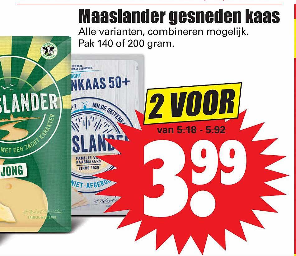 Dirk Maaslander Gesneden Kaas
