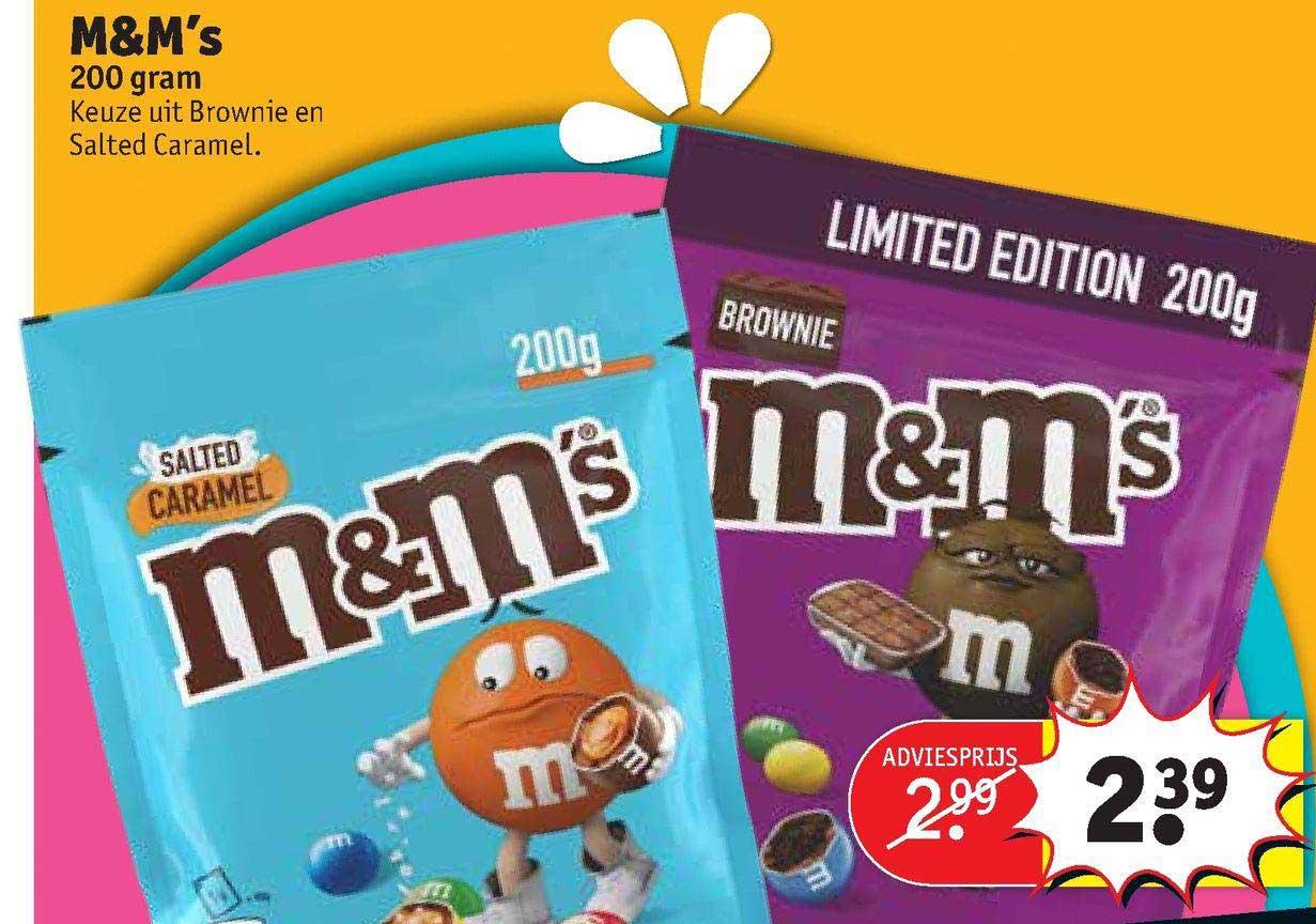 Kruidvat M&M's Brownie En Salted Caramel