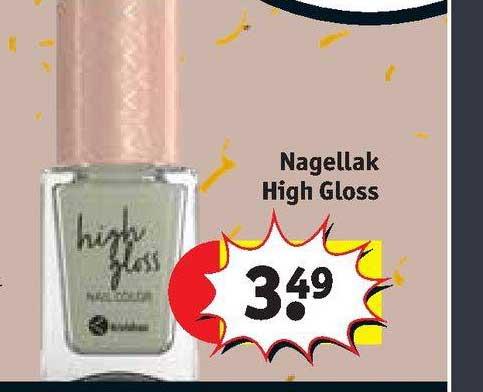 Kruidvat Nagellak High Gloss