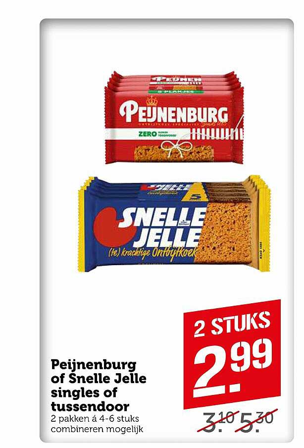 Coop Peijnenburg Of Snelle Jelle Singles Of Tussendoor