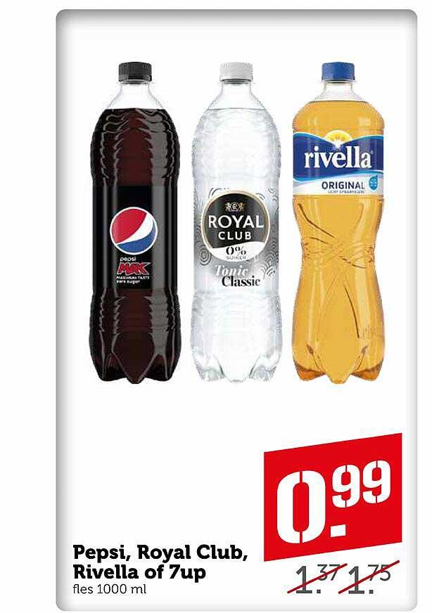 Coop Pepsi, Royal Club, Rivella Of 7up