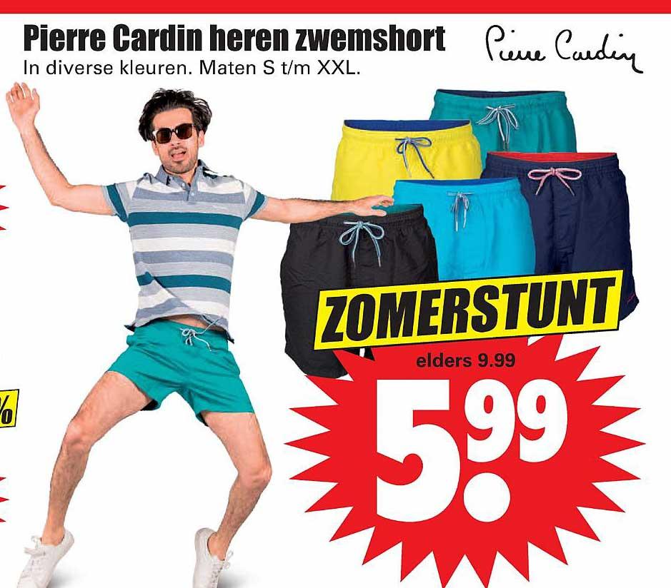 Dirk Pierre Cardin Heren Zwemshort