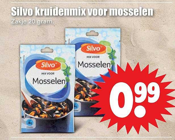 Dirk Sivo Kruidenmix Voor Mosselen