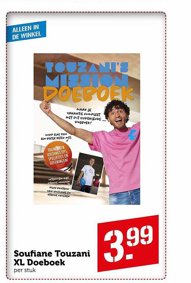Coop Soufiane Touzani XL Doeboek