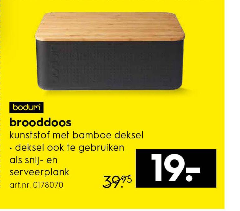 Bodum Brooddoos Aanbieding Bij Blokker