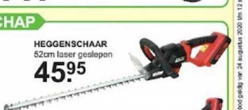 Van Cranenbroek Heggenschaar