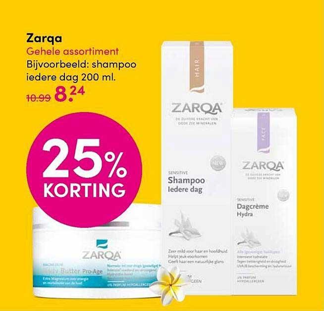 DA Zarqa 25% Korting