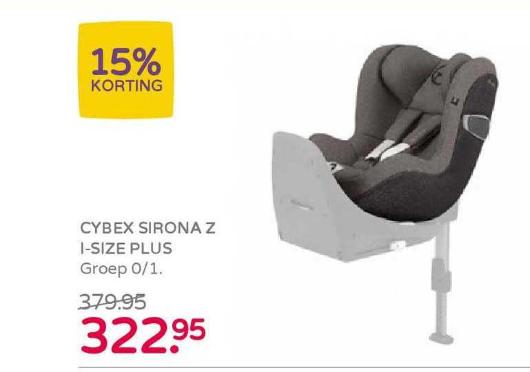 Prénatal Cybex Sirona Z I-Size Plus Autostoel