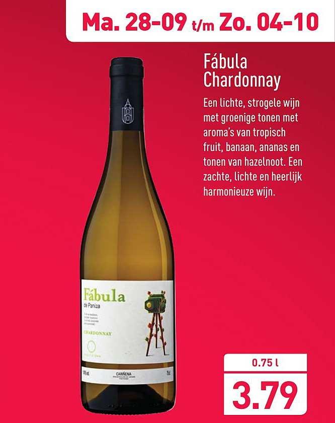 ALDI Fabula Chardonnay