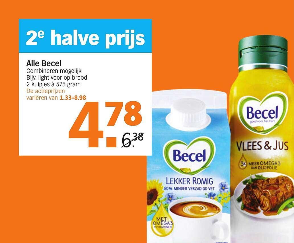 Albert Heijn Alle Becel