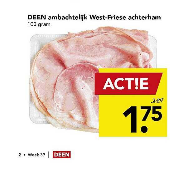DEEN Deen Ambachtelijk West-Friese Achterham