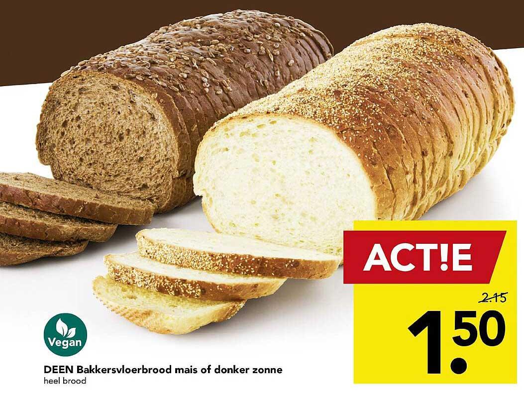 DEEN Deen Bakkersvloerbrood Mais Of Donker Zonne