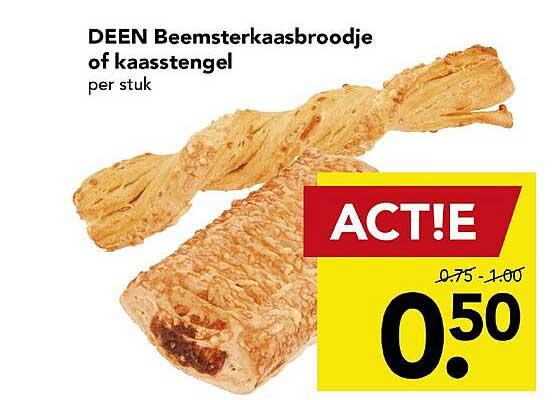 DEEN Deen Beemsterkaasbroodje Of Kaasstengel