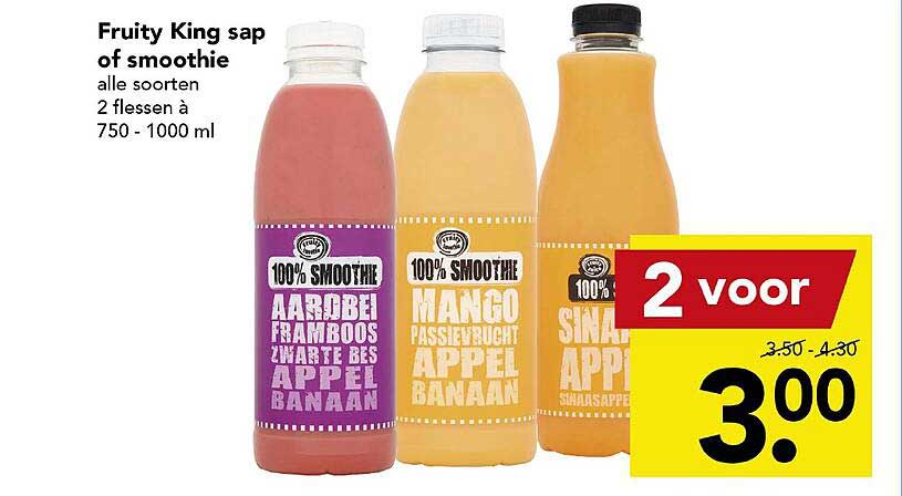 DEEN Fruity King Sap Of Smoothie