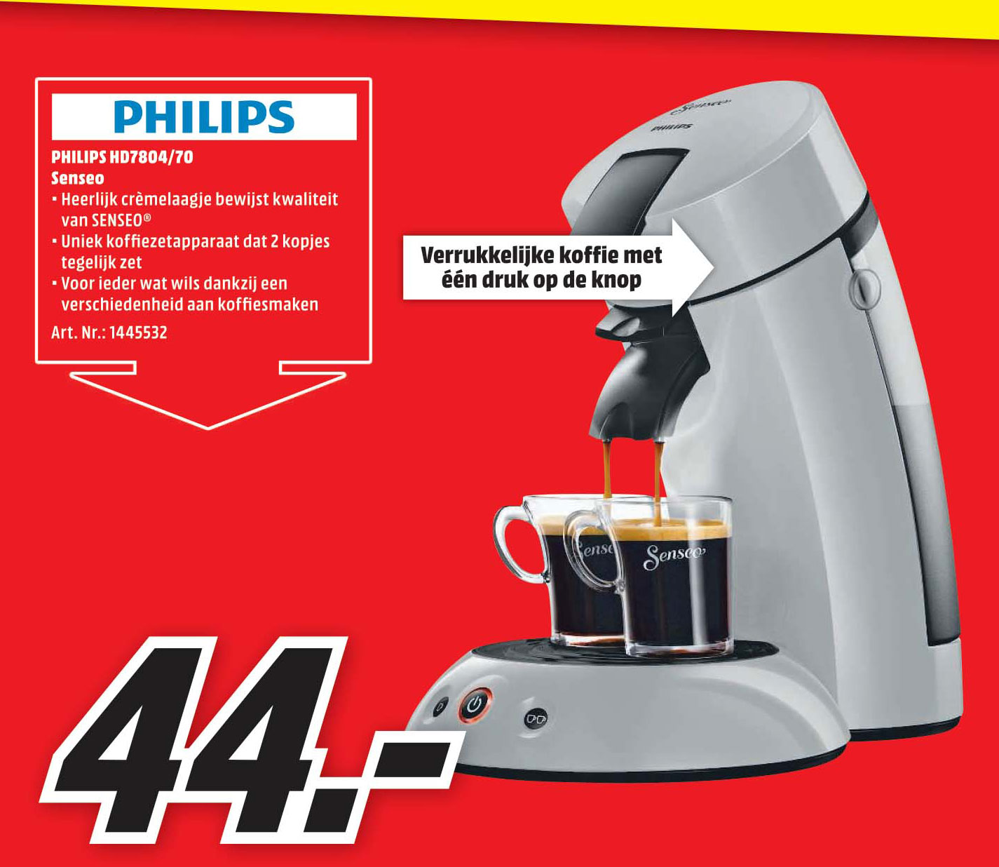 MediaMarkt Philips HD7804-70 Senseo