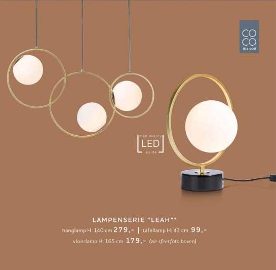 Xooon Lampenserie Leah