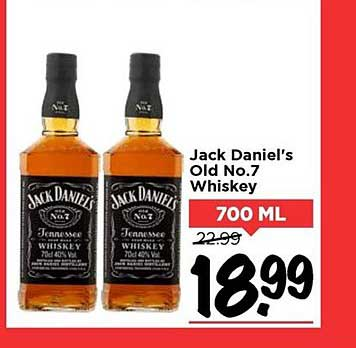 Vomar Jack Daniel's Old No.7 Whiskey