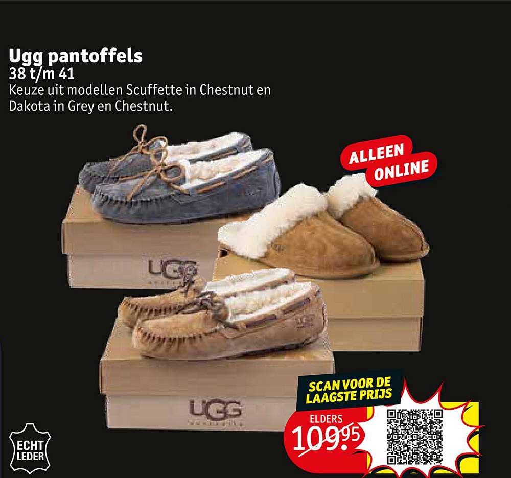 Kruidvat Ugg Pantoffels