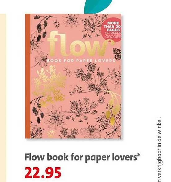 Bruna Flow Book For Paper Lovers