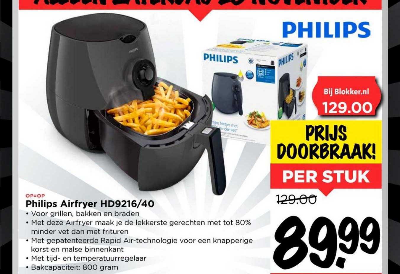 Vomar Philips Airfryer HD9216-40