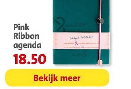 Bruna Pink Ribbon Agenda