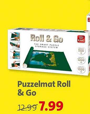 Bruna Puzzelmat Roll & Go