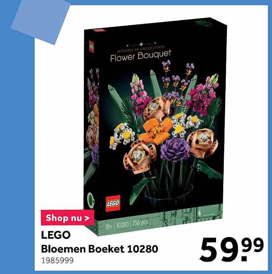 Intertoys Lego Bloemen Boeket 10280