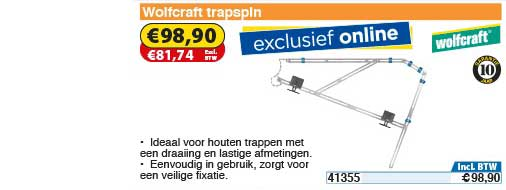 Toolstation Wolfcraft Trapspin