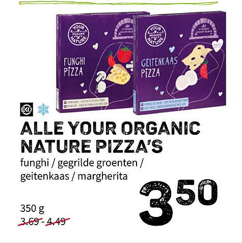 Ekoplaza Alle Your Organic Nature Pizza's