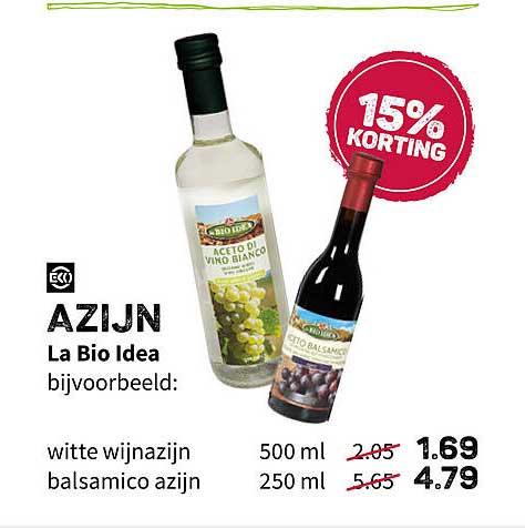 Ekoplaza Azin La Bio Idea 15% Korting